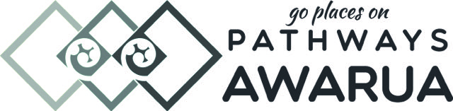 pathways logo long BW